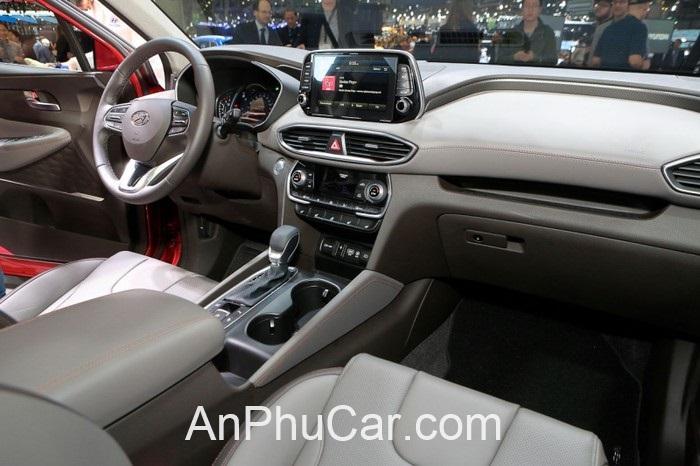 Gia Xe Hyundai Santafe 2020 Noi That