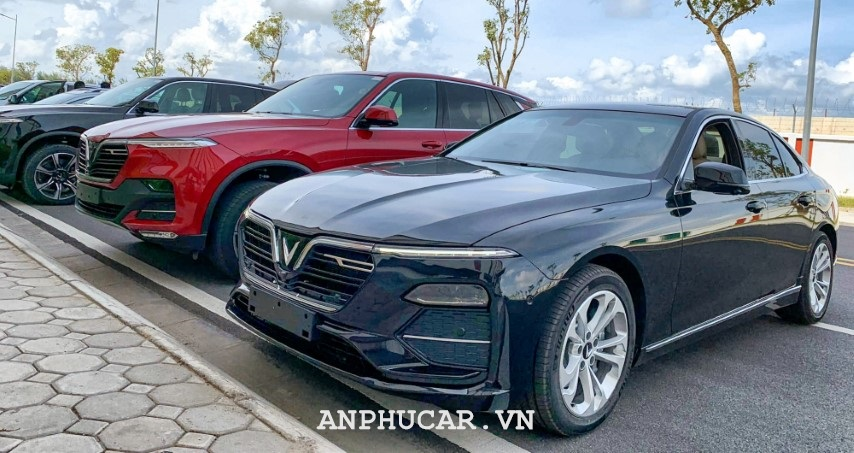 Vinfast Lux A2.0 2020 Than Xe