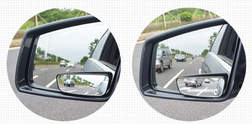 Phụ kiện ô tô gương lồi chống mù