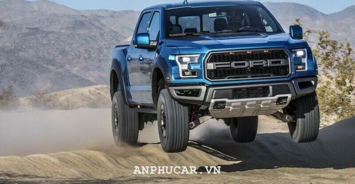 Ford Ranger Raptor 2020 van hanh