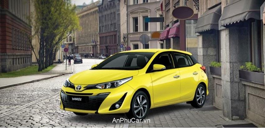 Gia Xe Toyota Yaris 2020 Tong Quan