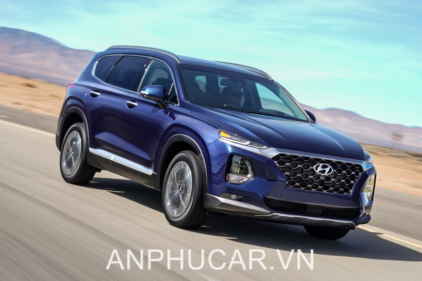 Hyundai Santafe 2020 Dau Xe