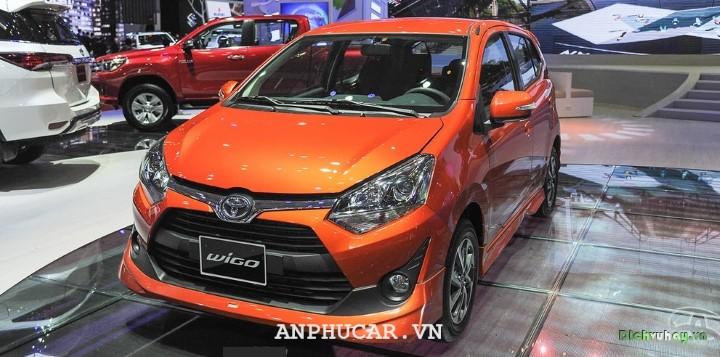 Toyota Wigo 2020 gia ban bao nhieu