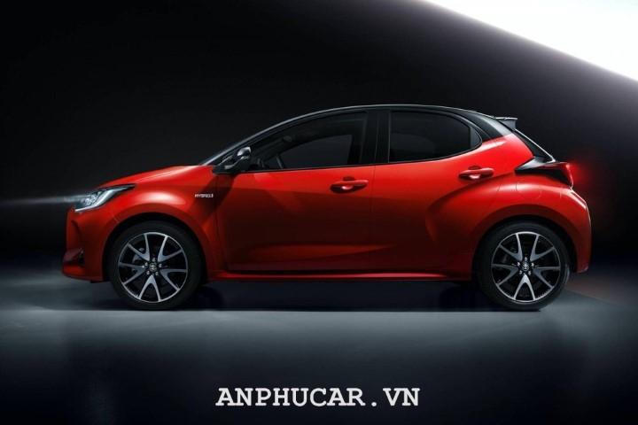 Toyota Yaris 2020 thiet ke an tuong