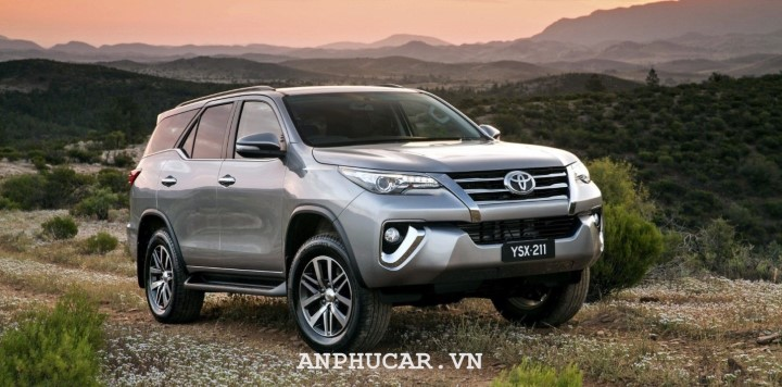 Toyota fortuner 2020 gia xe moi nhat
