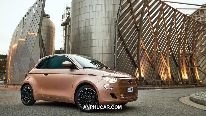 Fiat 500e 2021 ra mat